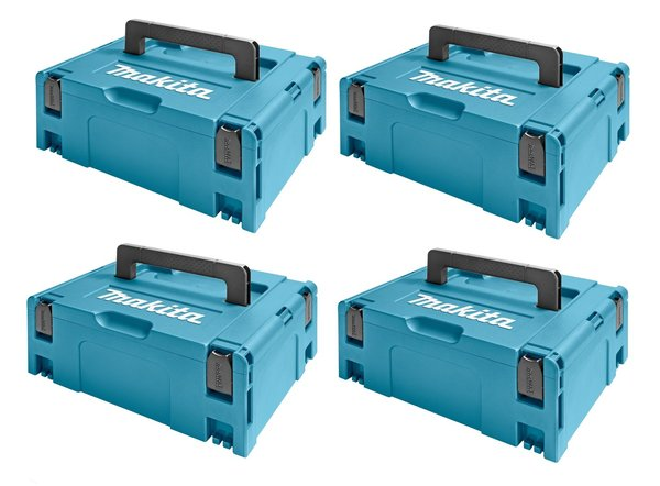 Makita 821550-0 Mbox 2 - 163mm hoog - 4-pack