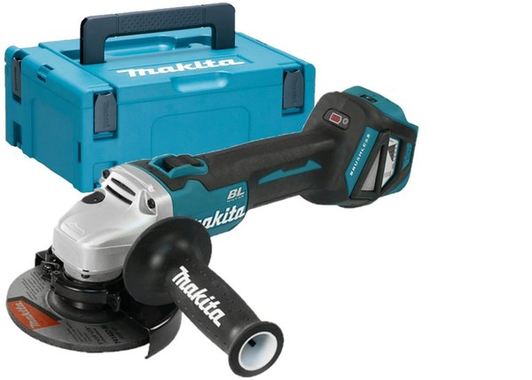 Makita DGA513ZJ 18V Brushless Haakse slijper (body) in Mbox - ADT AFT - 125mm